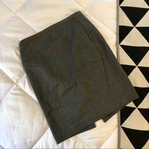 Express Structured Pencil Skirt